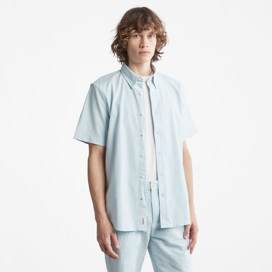 Pleasant River Oxford Shirt for Men in Light Blue | Timberland