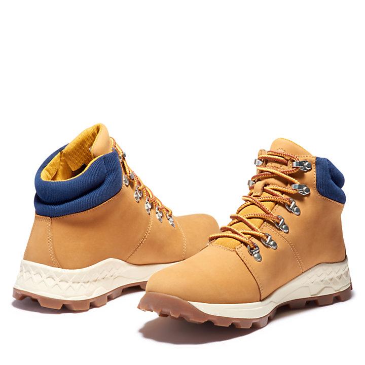 Bota Baja de Montaña Brooklyn para Hombre en amarillo-