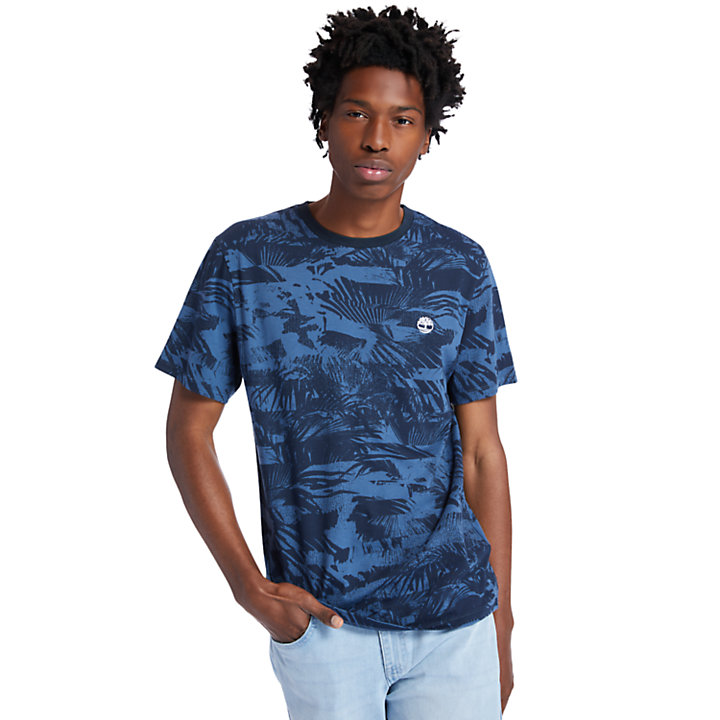Heritage T-Shirt for Men in Navy-