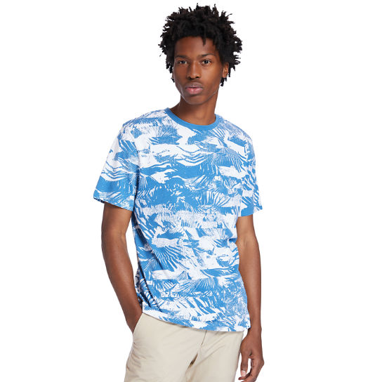 Heritage T-Shirt for Men in Blue | Timberland