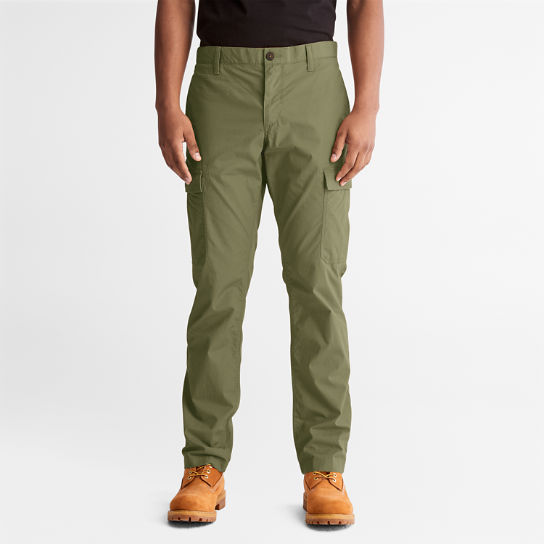 Poplin Cargo Trousers for Men in Green | Timberland