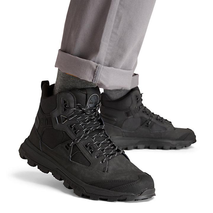 Chukka da Uomo Treeline STR in colore nero monocromatico-