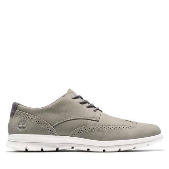 Graydon Brogue Oxford for Men in Grey | Timberland