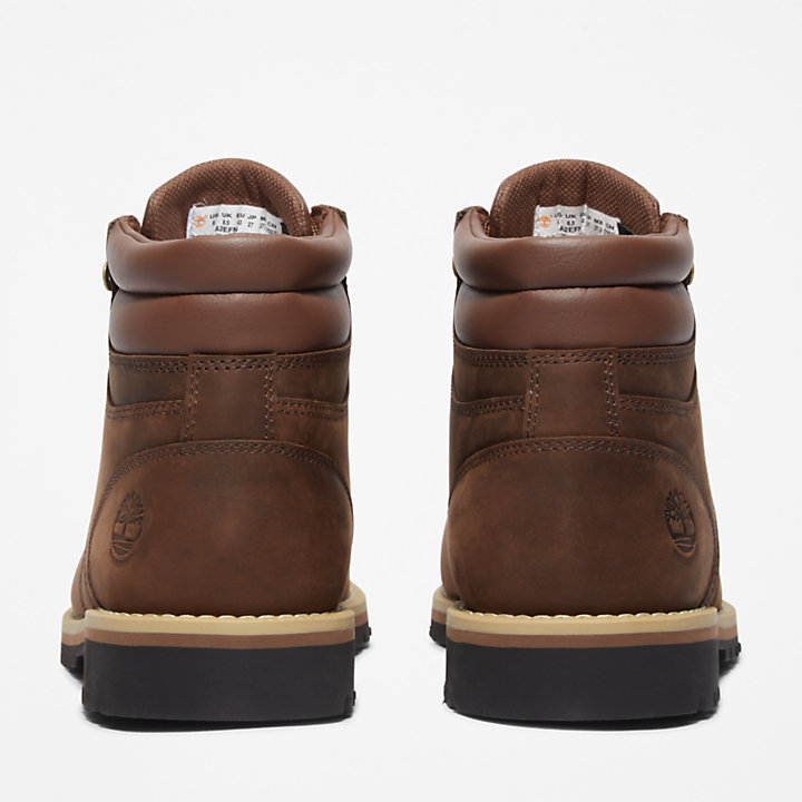 Men's Redwood Falls Waterproof Mid Hiking Boots in Brown-