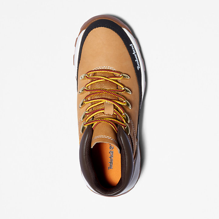 Brooklyn High Top Sneaker for Youth in Yellow-