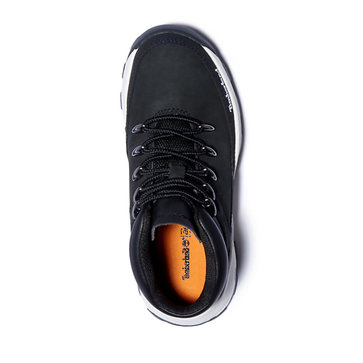 Zapatillas Altas Brooklyn para Niño (de 30,5 a 35) en color negro-
