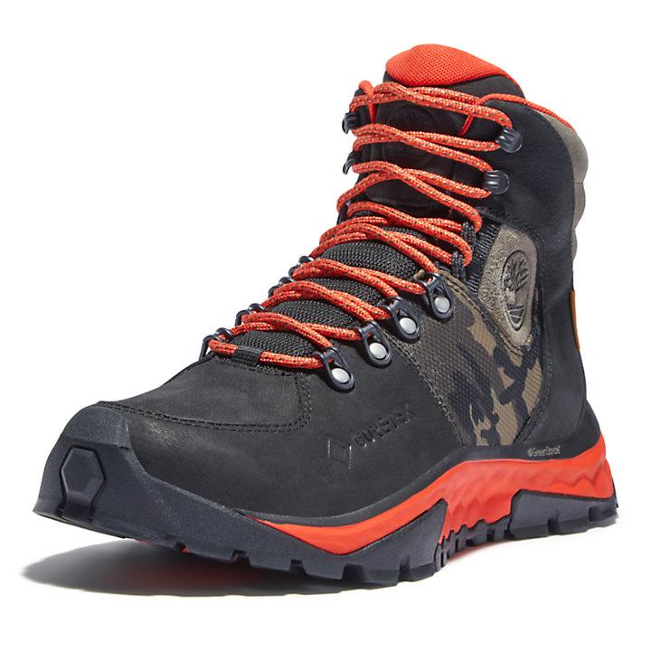 Solar Ridge Gore-Tex® GreenStride™ Hiking Boot for Men in Black-
