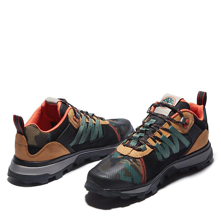 Zapatillas Treeline STR de hombre en color negro/camuflaje-