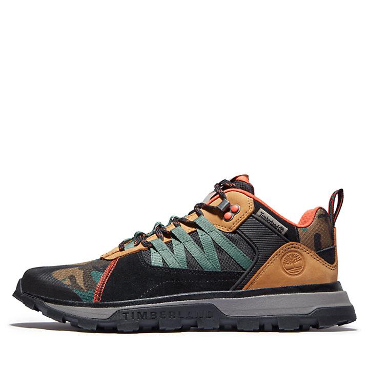 Sneaker da Uomo Treeline STR in colore nero/mimetico-