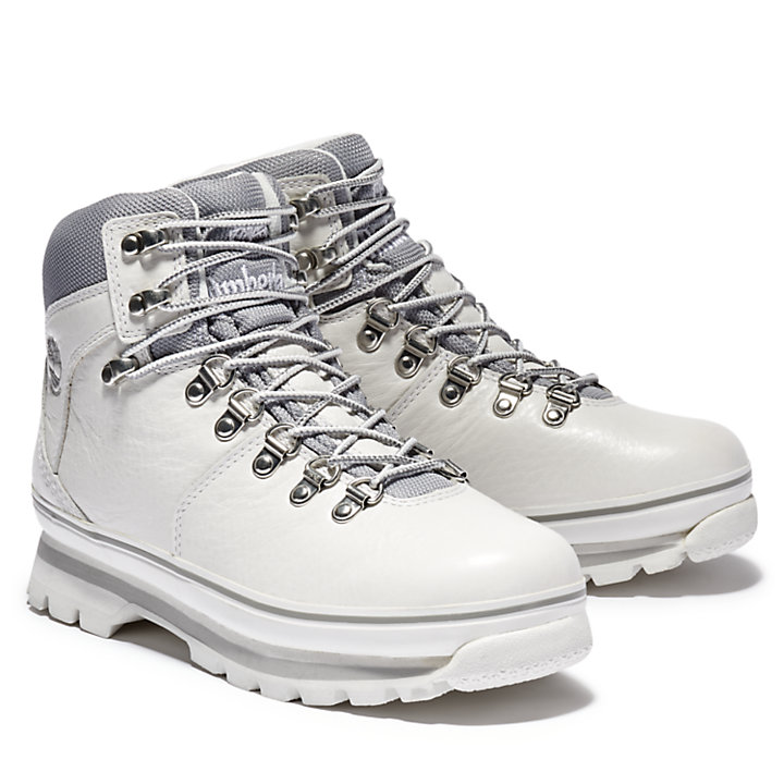 Euro Hiker Hiking Boot for Women in White-