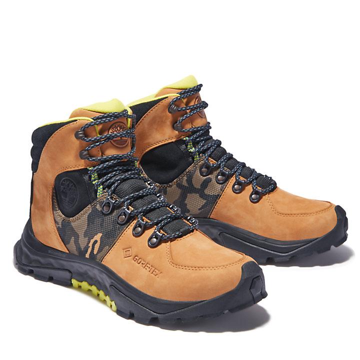 Bota de Montaña Solar Ridge Gore-Tex® GreenStride™ para Hombre en amarillo-