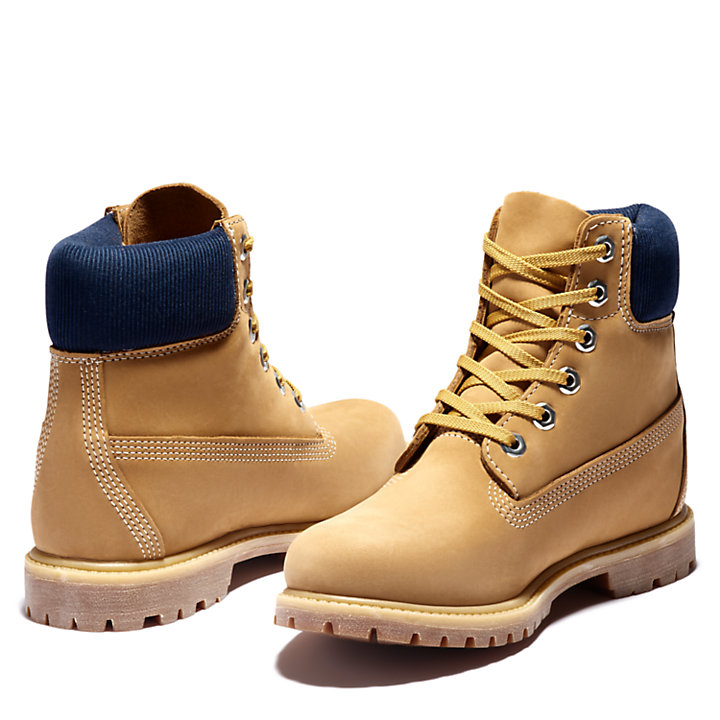 Premium 6 Inch Boot for Women in Dark Yellow-