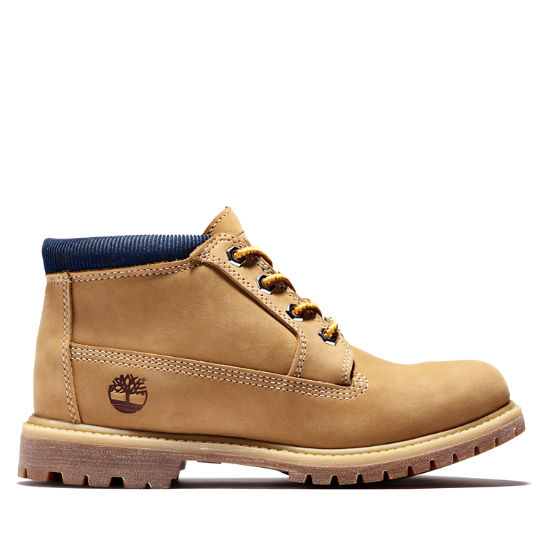Nellie Chukka for Women in Yellow/Blue | Timberland