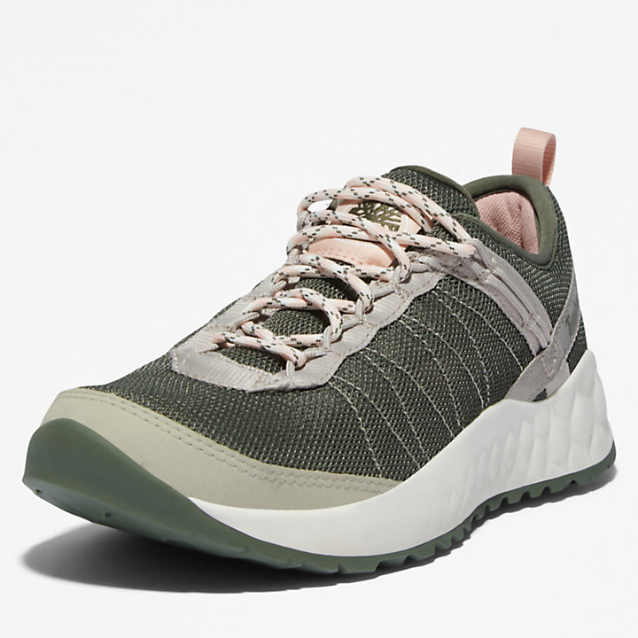 Solar Wave GreenStride™ Sneaker für Damen in Dunkelgrün-