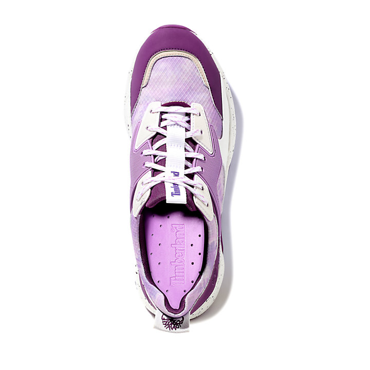 Delphiville Textile Sneaker for Women in Purple-