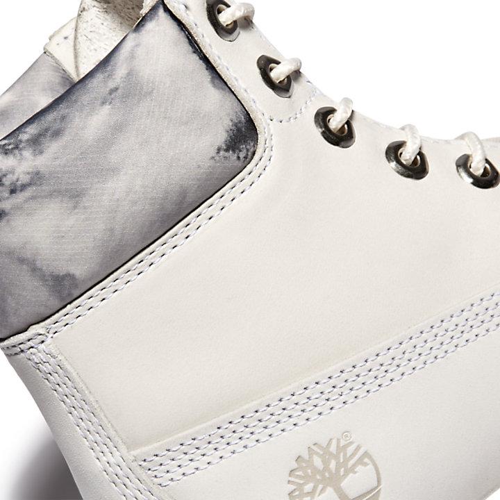 Premium 6 Inch Boot for Women in White-