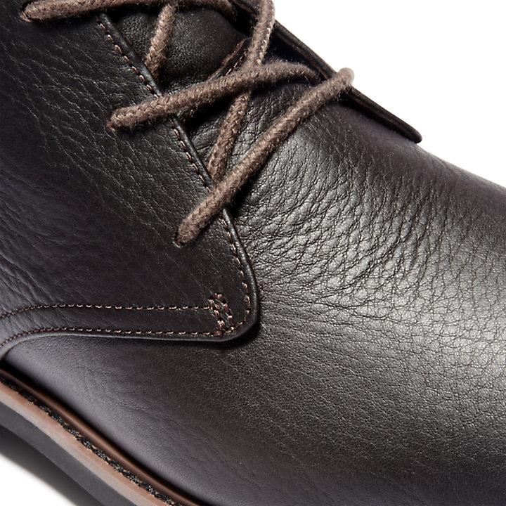 Stormbucks Chukka Boot for Men in Dark Brown-