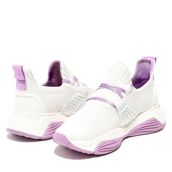 Emerald Bay Sneaker für Damen in Weiß/Violett-