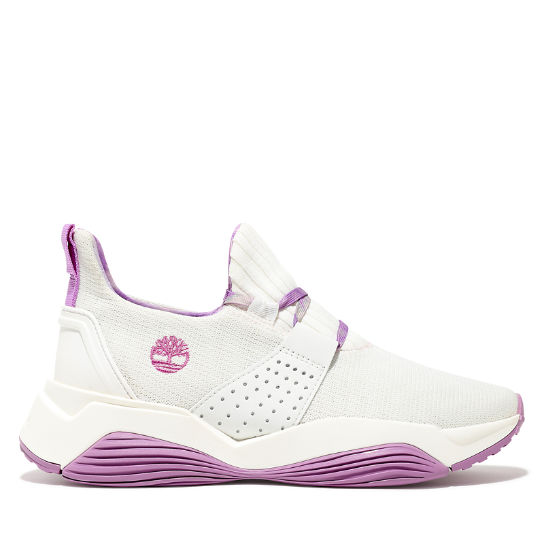 Emerald Bay Sneaker for Women in White/Purple | Timberland
