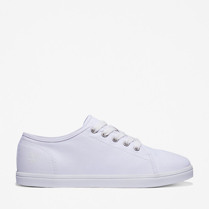 Dausette Canvas Oxford for Women in White-