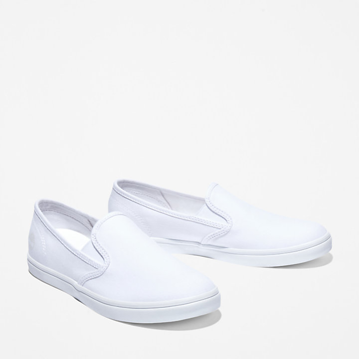 Dausette Slip-on Shoe for Women in White-