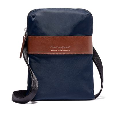 Alderbrook+Mini+Crossbodytas+in+marineblauw