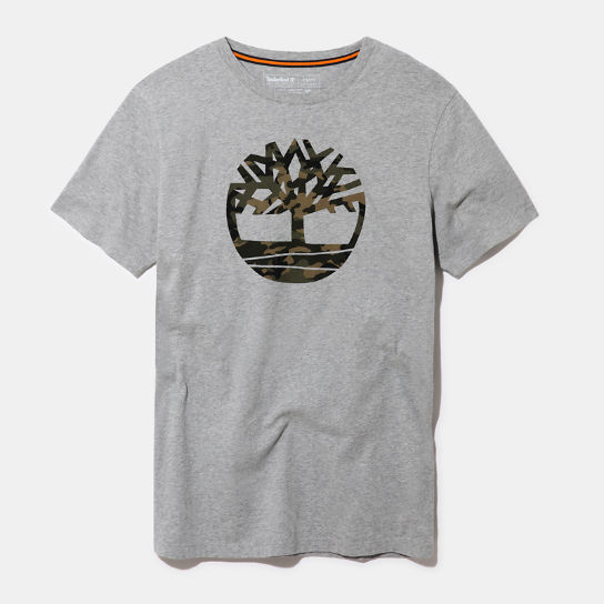 Kennebec River Logo T-Shirt for Men in Grey | Timberland