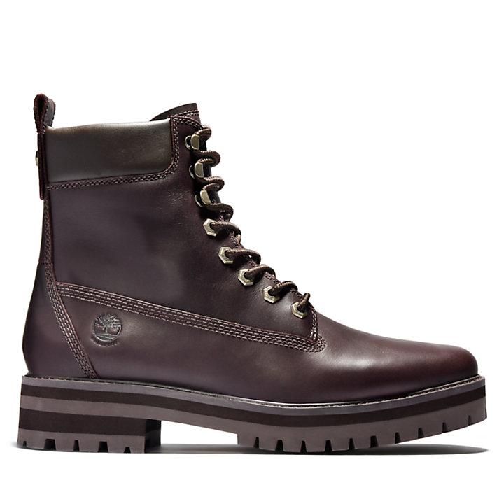 Courma Guy Winter Boot for Men in Burgundy-
