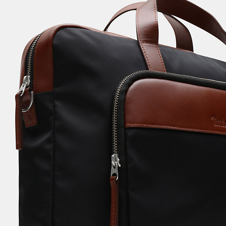 Alderbrook  Messenger / Briefcase in Black-