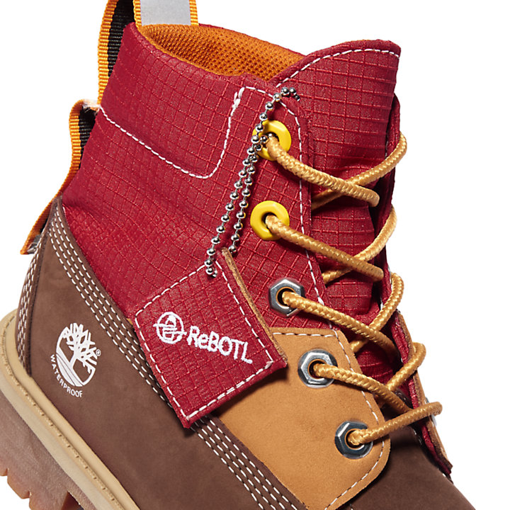 Premium 6 Inch Winter Boot for Junior in Brown-