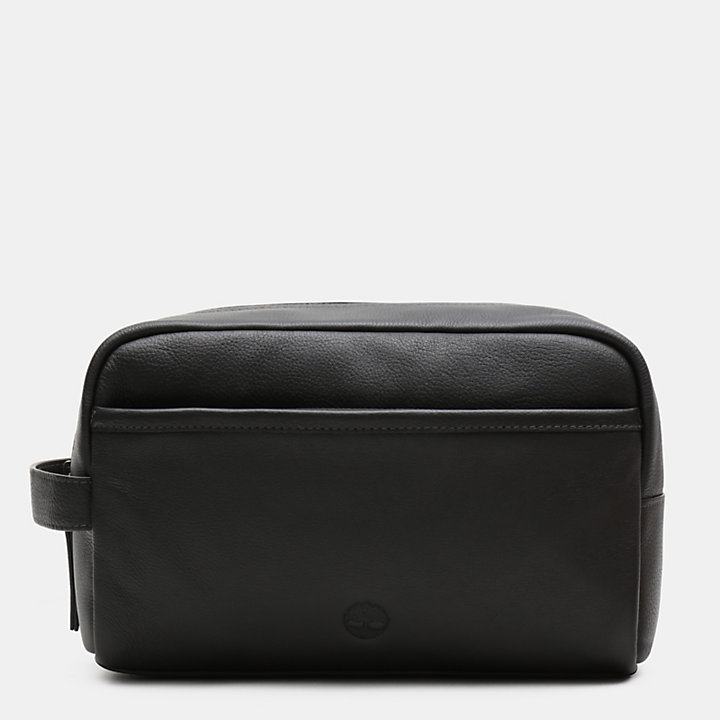 Beauty-Case Tuckerman in colore nero-