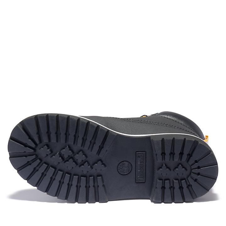 Bota 6 Inch Premium para Niño (de 35,5 a 40) en color negro-