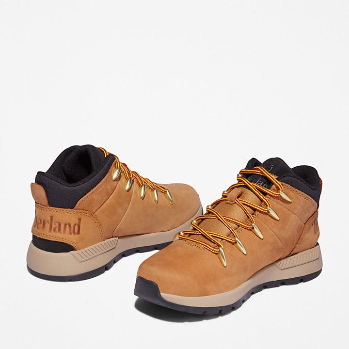 Sprint Trekker Hiking Boot voor kids in geel-