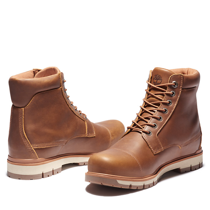 Radford Plain Toe 6 Inch Boot for Men in Brown-