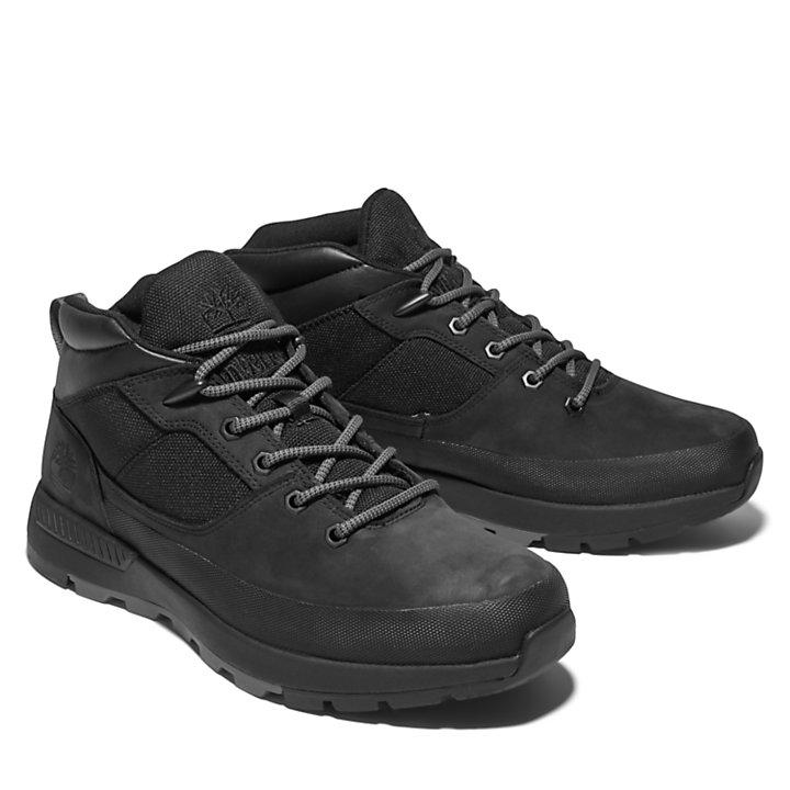 Basket Sprint Trekker pour homme en noir monochrome-