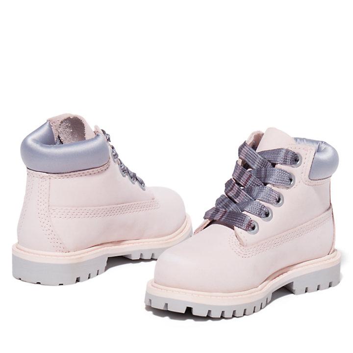 6-Inch Boot Premium pour tout-petit en rose-