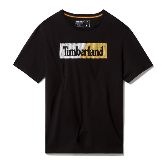 Kennebec River Logo T-shirt for Men in Black | Timberland