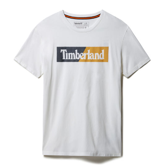 Kennebec River Logo T-shirt for Men in White | Timberland
