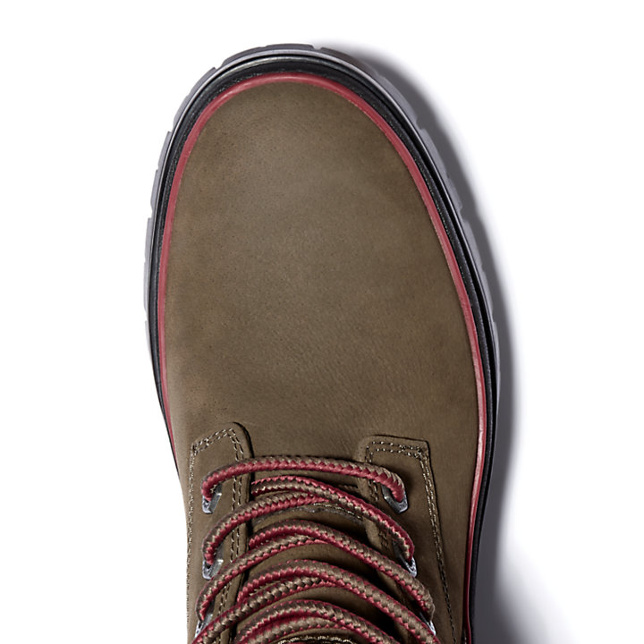 Malynn EK+ Mid Lace-Up Boot voor Dames in bruin-