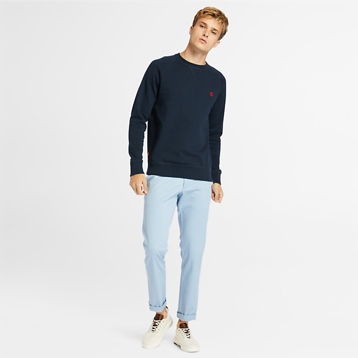 Exeter River Sweatshirt for Men in Navy-