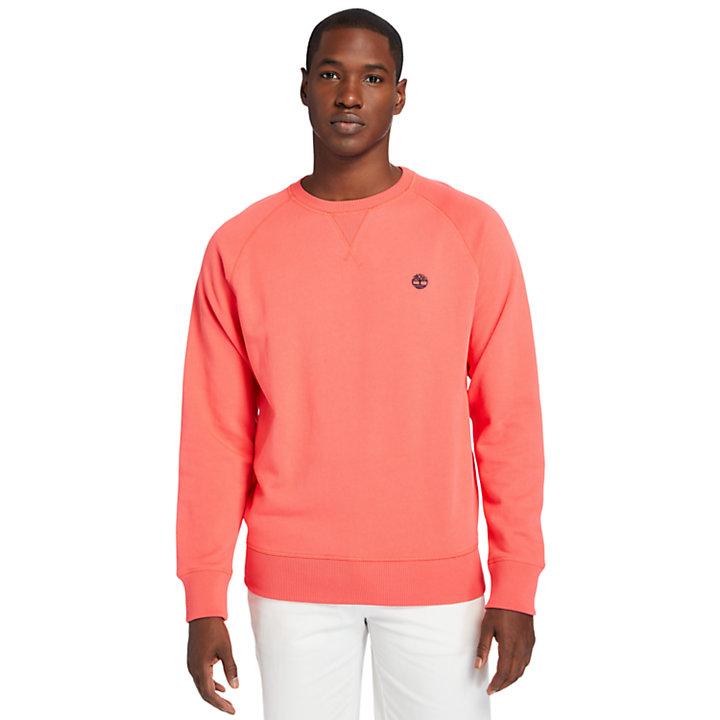Exeter River Sweatshirt for Men in Coral-