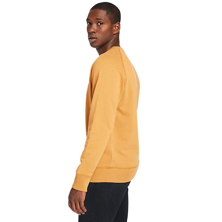 Exeter River Sweatshirt for Men in Yellow-