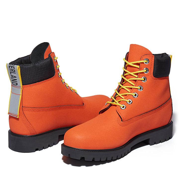 Bota de Invierno 6 Inch Timberland® Heritage para Hombre en Helcor® naranja-