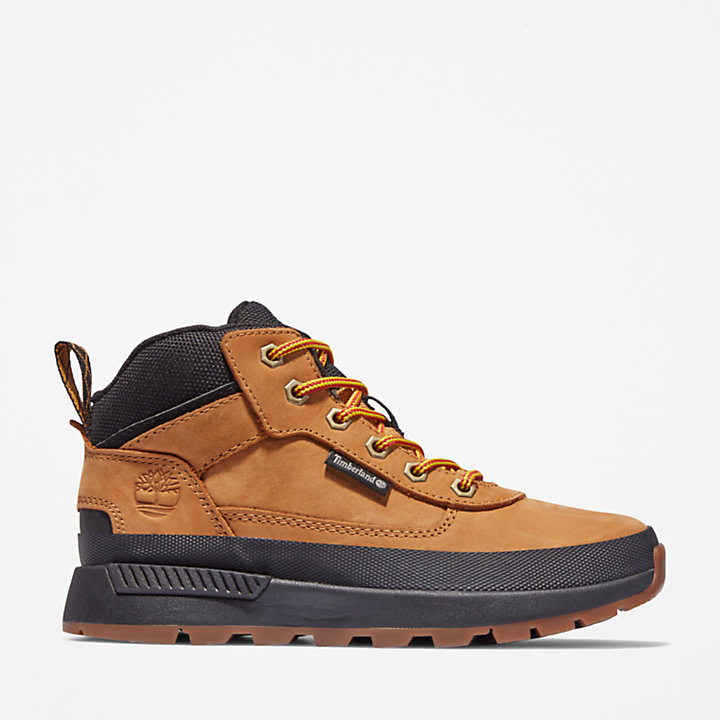Field Trekker Hiking Boot for Youth in Yellow-