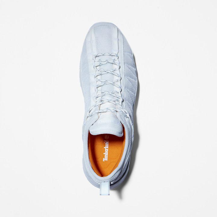 Solar Wave Mesh Sneaker voor heren in wit-