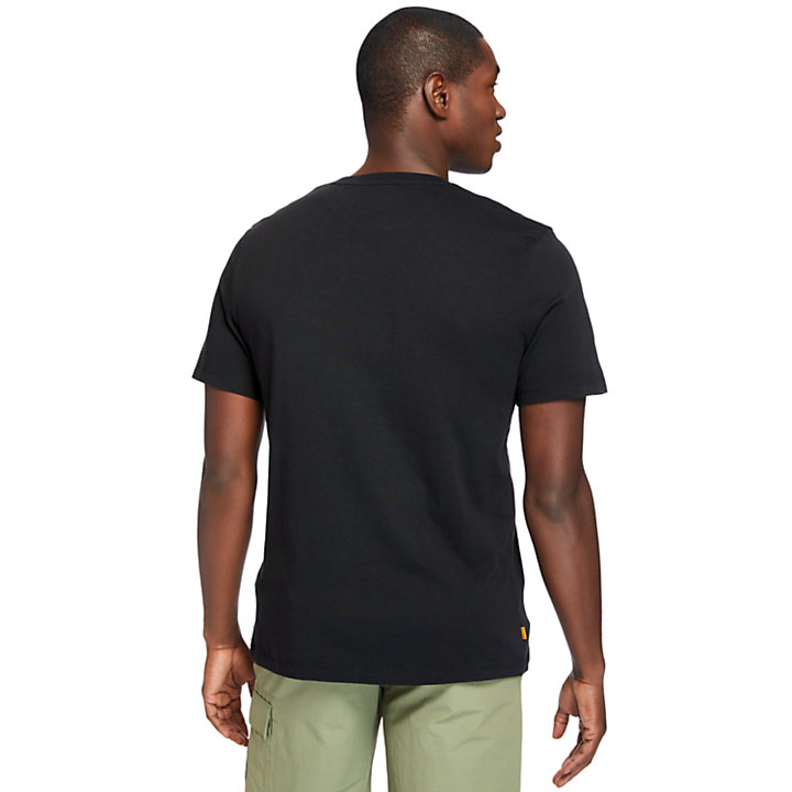 Kennebec River T-Shirt for Men in Black-