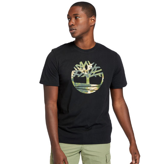 Kennebec River T-Shirt for Men in Black | Timberland