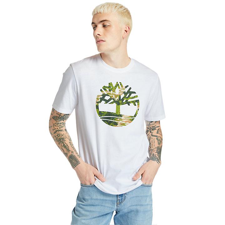 Kennebec River T-Shirt for Men in White-