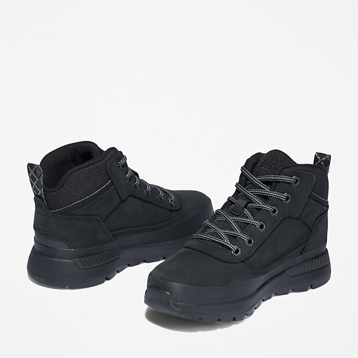 Chaussure de randonnée Field Trekker junior en noir-