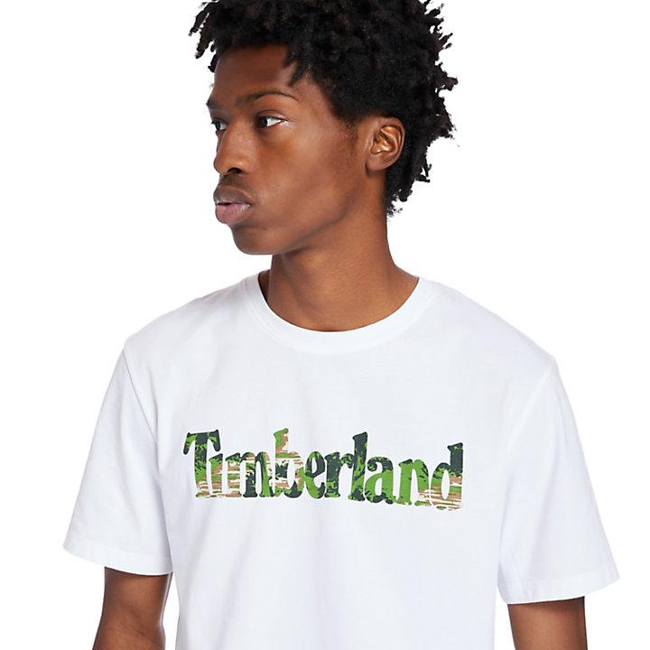 T-shirt Kennebec River à logo pour homme en blanc-